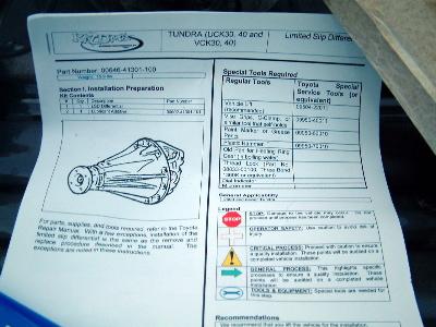Tundra Trd Pro >> Toyota Tundra LSD Upgrade (Kazuma TRD)